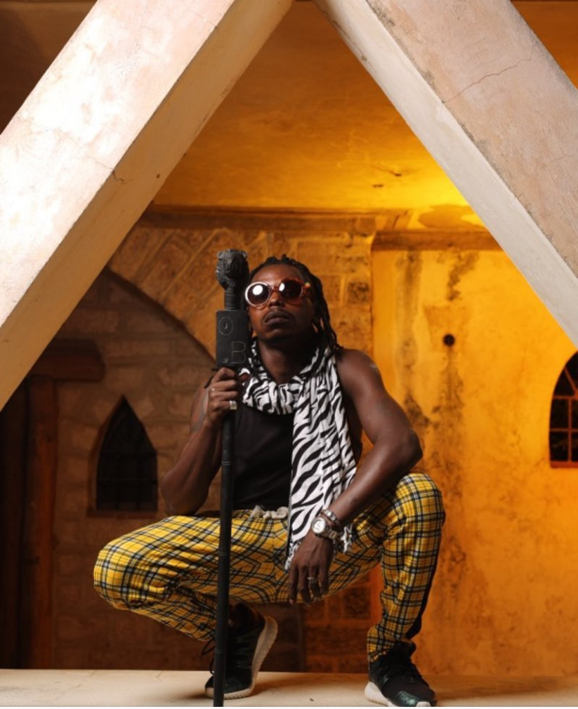 An Image of Odinareh Bingwa- Kenyan artist