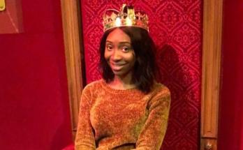 Maria- wearing crown
