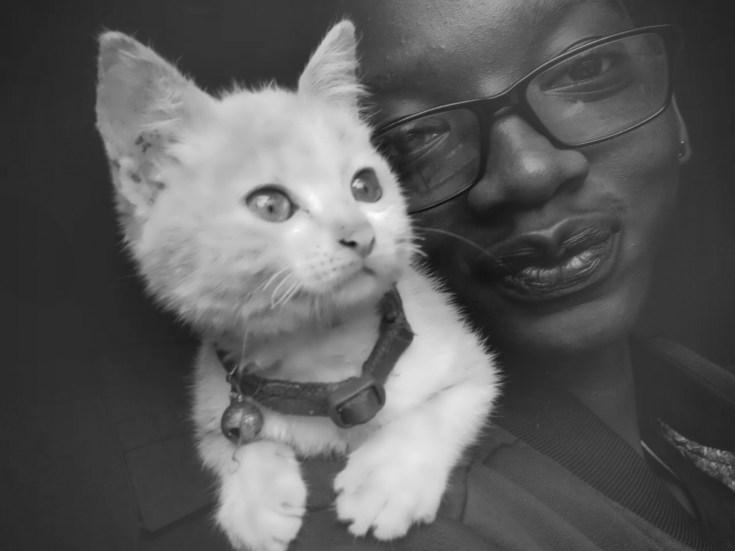 An image of Ugandan blogger Kia Martina