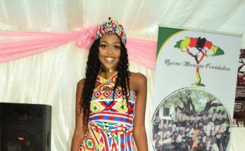 Amanda Ngcono Nkomo- Zimbabwean model
