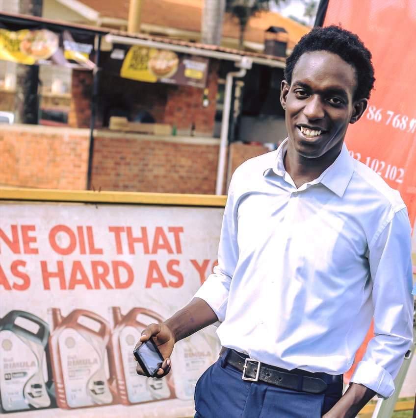 Benjamin Kavubu Ugandan blogger