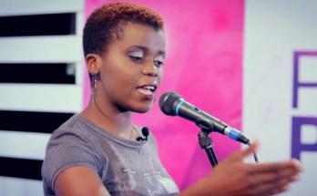 Tinashe Tafirenyika - award-winning poet.